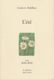 Cécile A. Holdban, «L'été» 2