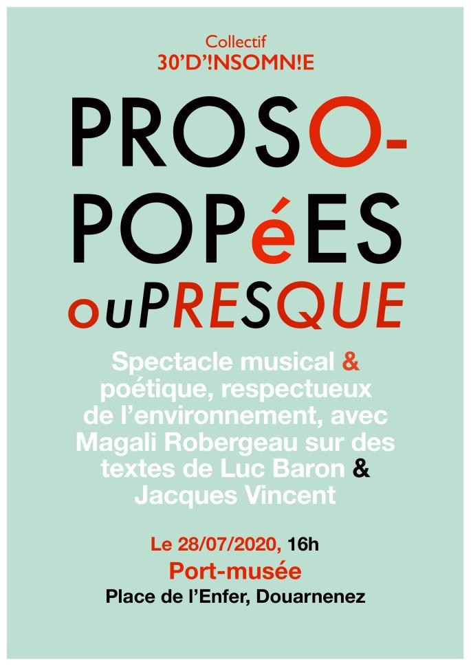 Affiche prosopopée, Port-musée